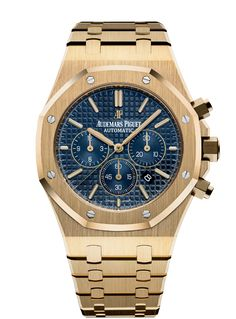 Audemars Piguet [NEW] Royal Oak Chronograph 26320BA.OO.1220BA.02 Yellow Gold (Retail:US$56,600) - Price On Request