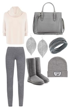 A fashion look from September 2015 featuring shirt sweater, legging pants and grey suede boots. Browse and shop related looks. Karen Millen, Sweater Shirt, Max Mara, Leggings Are Not Pants, Suede Boots, Ugg Australia, Knits, Balenciaga, Uggs