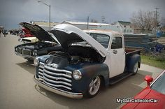 '50 Chevy-the owner has a decision to make about the appearance of this truck. Read why: http://www.mystarcollectorcar.com/3-the-stars/star-truckin/2515-december-2014-50-chevy-do-you-stick-with-a-rat-rod-approach-or-go-in-another-direction.html #50Chevytruck