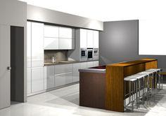 Módulos para Cocinas Modernas. Módulos para Cocinas Modernas: Hasta ahora, algunas zonas de la cocina resultaban de muy difícil acceso y exigían erguirse o agacharse mucho.Con el sistem
