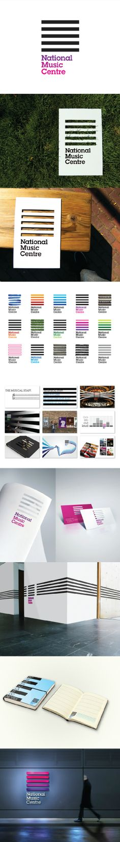 Branding of The National Music Centre by www.cossette.com