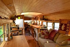 Living in a school bus Living in a school bus Living in a school bus Bus Living, Tiny Living, Luxury Rv Living, School Bus Tiny House, School Bus House, School School, Bus Remodel, Converted Bus, Bus Interior