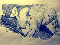 Amazing drawing sent in by Loanne - Dessins   www.we-onceuponatime.tumblr.com