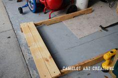 Camelot Art Creations: DIY Pallet Stand