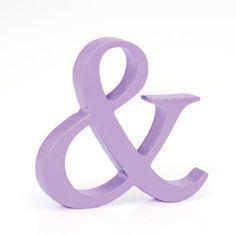 Purple Ampersand