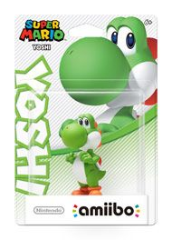 Boxshot: Yoshi Super Mario amiibo Figure by Nintendo