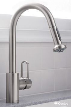 Hansgrohe Metro HighArc Kitchen Faucet with 2-function Pull-down Sprayhead in Steel Optik Finish