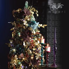 mellow night christmas tree set