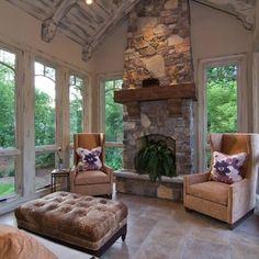 Four season Porch with heated floors | Yelp