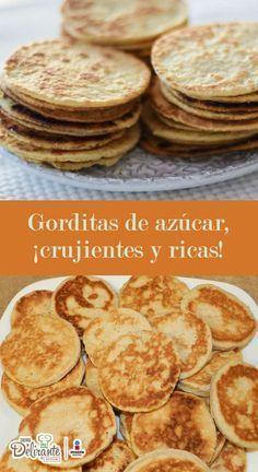 Prepara gorditas de azúcar, ¡súper crujientes y ricas! | CocinaDelirante