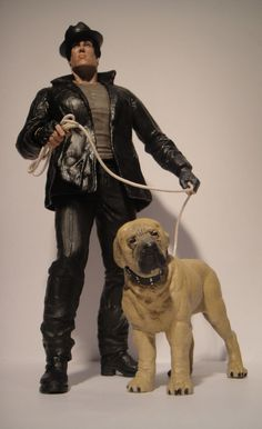 Rocky Balboa & Butkus (Rocky) Custom Action Figure