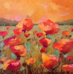 """Poppy Sunrise"" - Anne Ducrot"