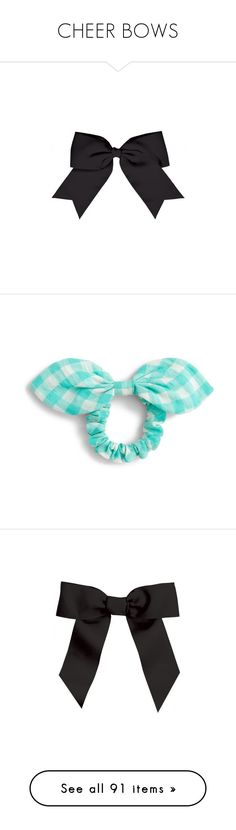 """""""CHEER BOWS"""" by thesassystewart on Polyvore featuring cheer, jewelry, pacific turquoise, j crew jewellery, cocktail jewelry, evening jewelry, special occasion jewelry, holiday jewelry, accessories and hair accessories"""