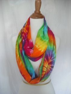 Circular Tie Dye Scarf/Wrap by DoYouDreamOutLoud on Etsy, $18.00 SO FABulous!