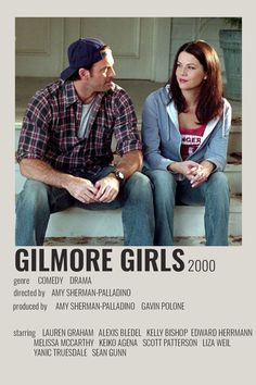 Gilmore Girls Movie, Gilmore Girls Poster, Gilmore Girls Lorelai, Luke And Lorelai, Glimore Girls, Girls Show, The Professional Movie, Liza Weil, Scott Patterson