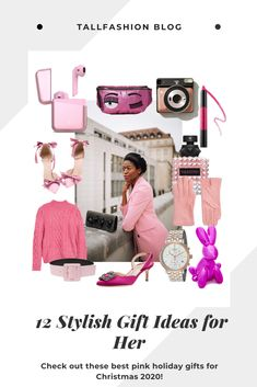 If are looking for some outstanding Christmas gifts and you love candy colors you are at the right place. Check out this pink hottest gifts for Christmas 2020. #christmasgifts #bestchristmasgifts2020 #giftsideas #gifts #giftsforher #giftsideasforwomen #topchristmasgifts2020 #bestgifts2020 #holidaygifts2020 #tallfashionblog Top Christmas Gifts, Holiday Gifts, Cool Gifts, Best Gifts, Instagram Worthy, Candy Colors, Pink Tops, Gifts For Mom, Gift Ideas