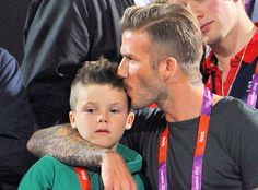 David Beckham and son Cruz ♥