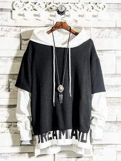 Edgy Outfits, Cool Outfits, Fashion Outfits, Emo Fashion, Japanese Outfits, Japanese Fashion, Stylish Hoodies, Korean Fashion Men, Fashion Design Sketches