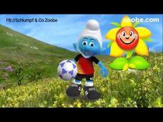 Ein Lächeln für mich ein Lächeln für Dich❤Schlumpf Videos Zoobe Schlümpfe Animation - YouTube