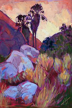 Erin Hanson... Saw this artist at the Paso Art festival ... She is so amazing ! I need some of her paintings ! Agh