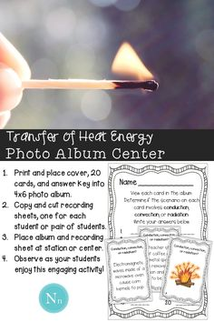 Conduction Convection and Radiation Science Center Do your students need to…