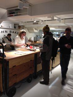 Bäckerei in Zürich mit iPad Kasse GASTROFIX und Personal