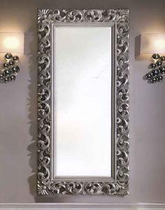 Dekorativer Ganzkörperspiegel HERACLITO In Silber. Dekoration Beltrán, Ihr  Online Shop Für Originelle Ankleidespiegel