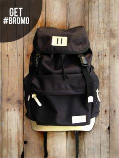 GET #BROMO Black | $30 | www.TasmuTasku.com