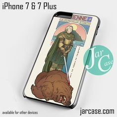Brienne Game Of Thrones Phone case for iPhone 7 and 7 Plus