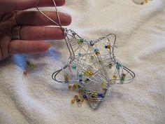 DIY star ornament  ALL DONE