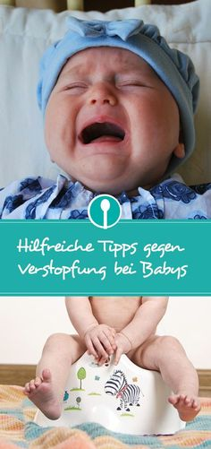 Tips against constipation after the introduction of complementary foods: Babies often suffer from constipation after the first attempts to breed. Baby Kind, Our Baby, Baby Boy, Baby Skin Care, Baby Care, Breastfeeding Techniques, 5 Babies, Baby Development, Baby Health