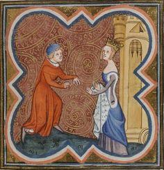 later 14th century (1372) France?  Bibliothèque de Besançon  Ms. 434: Traités…