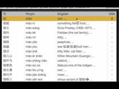 Online Chinese Dictionary Search
