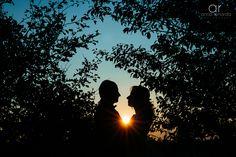 Sunset bridal photoshoot www.annarenarda.com