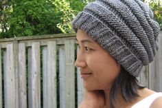 Slouchy Beehive Hat.