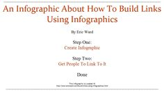 How To Build Links Using Infographics Big Data, Studying, Infographics, Challenge, Building, Link, Information Graphics, Construction, Info Graphics
