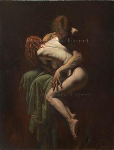 Italian artist Roberto Ferri