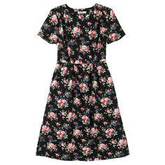 Spray Flowers Pleated Dress   Fashion   CathKidston