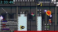 Super Mario Maker Level - [32873 attempts]