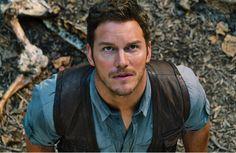 "J for ""Jurassic World"" - Colin Trevorrow (2015) - Chris Pratt."