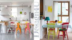 Se avete la stessa #sala da #pranzo da anni e vi siete stancati,ma non potete affrontare una spesa per ricomprare #tavolo e #sedie , la soluzione che vi offro è : #Pitturare! Esistono varie soluzioni divertenti per impreziosire e rallegrare la vostra #dinning #room. Usare sedie diverse nel #design ma con lo stesso #colore o sedie dal colore diverso ma dello stesso design.#lowprice #risparmiare #interni #interior