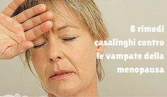 8 rimedi casalinghi contro le vampate della menopausa