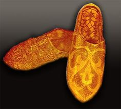 Ottoman sultan's shoes