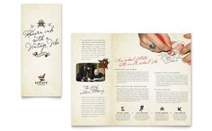 Body Art and Tattoo Artist Brochure Template Design by StockLayouts