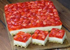 Ciasto Dupa Pawiana - Obżarciuch Cheesecake, Food And Drink, Tasty, Sweets, Desserts, Tailgate Desserts, Deserts, Gummi Candy, Cheesecakes