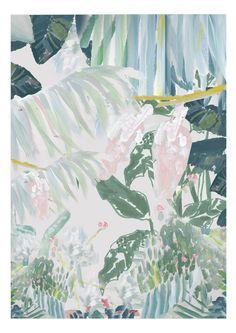 Botaniska Akryl - Jenni Vuorinen