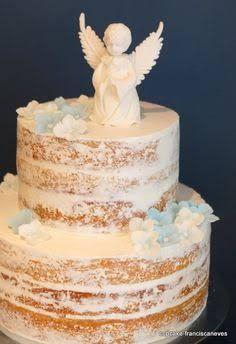 Resultado de imagem para 1st holy communion naked cake