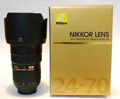Nikon 24-70mm f/2.8G. The holy grail of lenses. I would have had it long ago if it wasn't for the price tag.