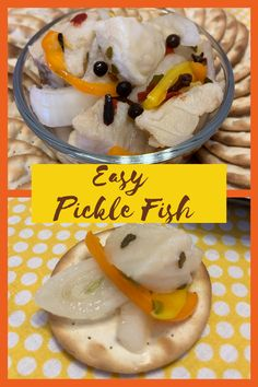 Using a curing process you will learn how to pickle Pike fish like a pro! This pickle fish recipe is the perfect addition to any charcuterie boards. Ten days and seven ingredients are all it takes to make this easy pickle fish recipe. Pickled Fish Recipe, Crispy Pickles Recipe, Baked Pickles, Pike Recipes, Meal Recipes, Drink Recipes, Northern Pike Recipe, Seafood Platter, Fermented Foods