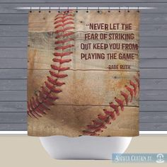 Baseball Season Is Soon Coming To A Close Keep This In Your Baseball Bathroom Decorsports
